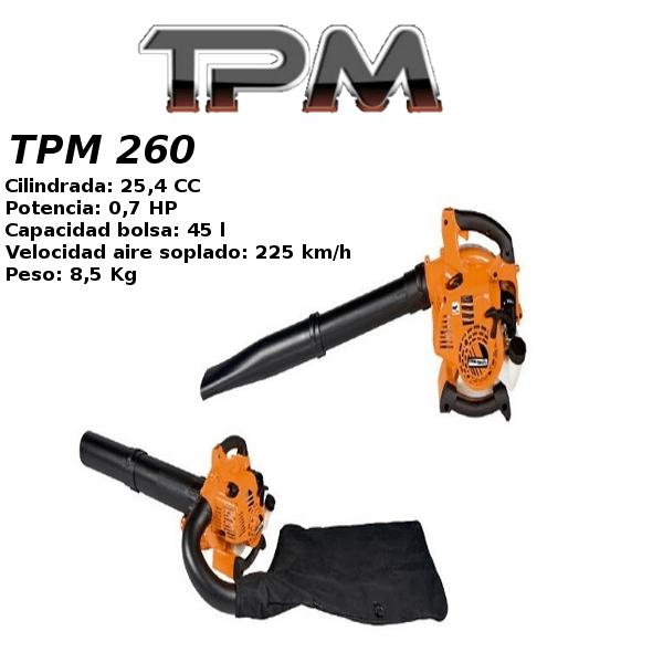 Soplador aspirador TPM 260
