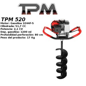 Ahoyador TPM 520 gasolina