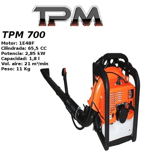 Soplador gasolina TPM 700
