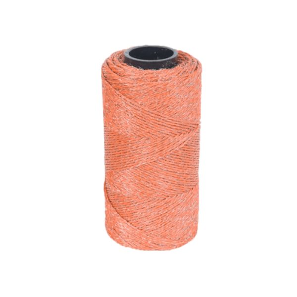 Conductor wire electric fences orange