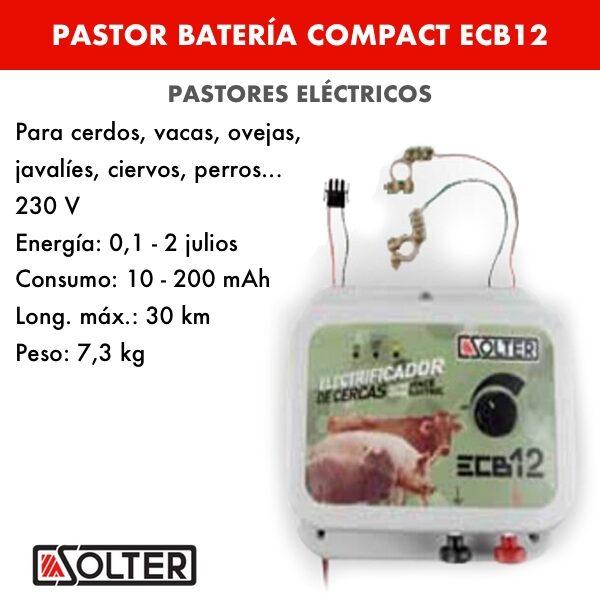 Pastor bateria Compact ECB12