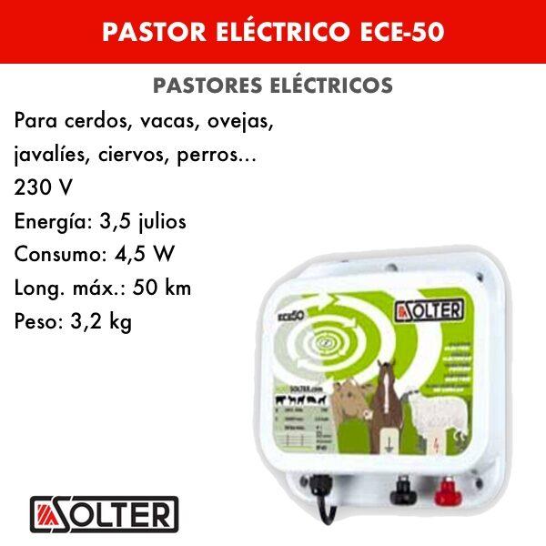 Pastor eléctrico ECE-50
