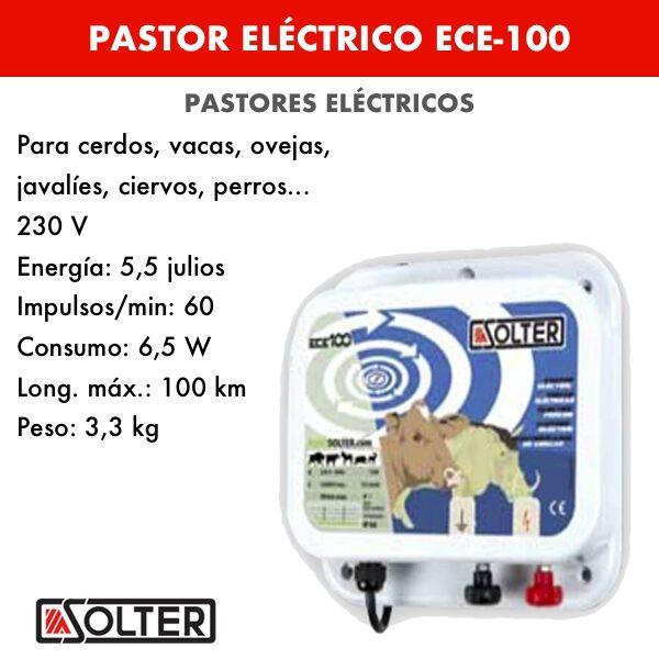 Pastor eléctrico Solter ECE-100