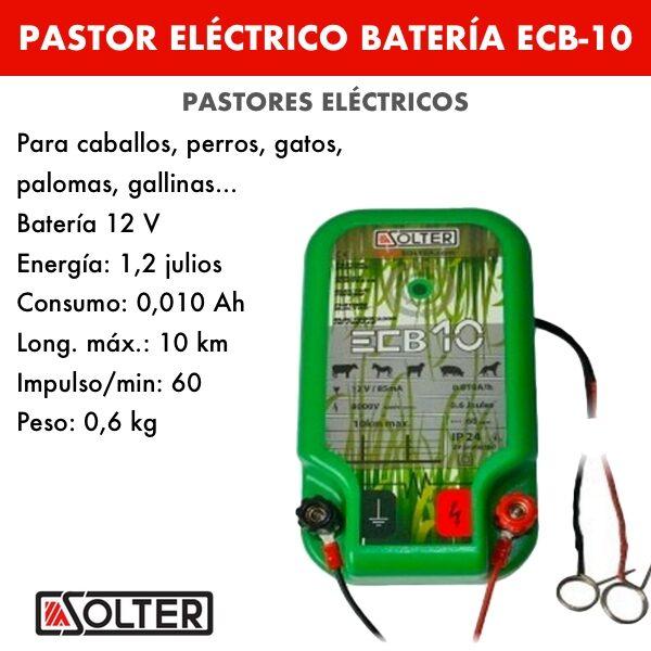 Pastor eléctrico a batería ECB-10