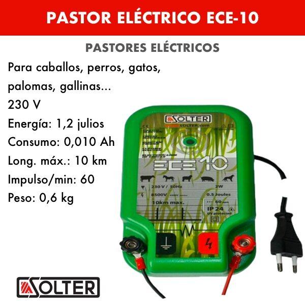Pastor electrico ECE-10