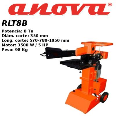 Astilladora leña Anova RLT8B