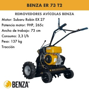 Removedor avícola Benza 73 T2