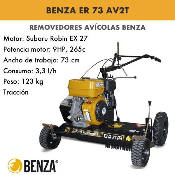 Removedor avícola Benza ER 73 AV2T