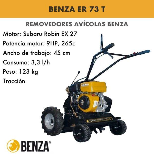 Removedor avícola Benza ER 73 T