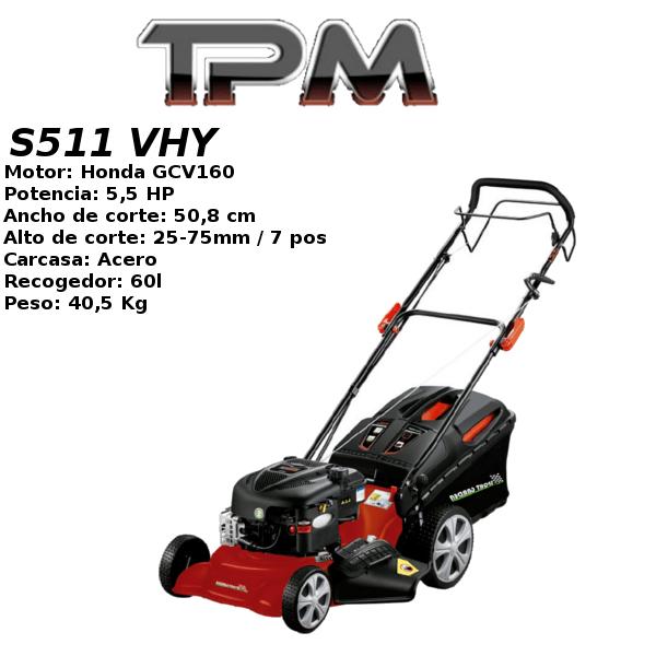Cortacesped gasolina TPM S511 VHY Honda