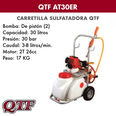 Carretilla sulfatadora QTF 30 ER