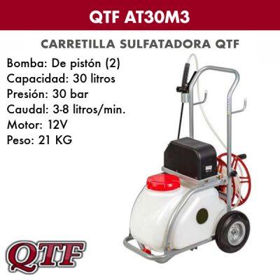 Carretilla sulfatadora QTF AT 30M3