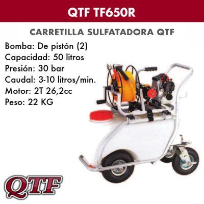 Carretilla sulfatadora QTF 650R