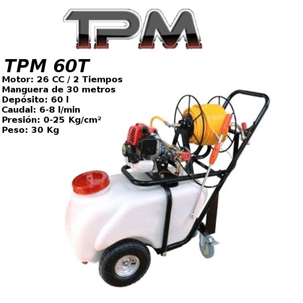 Carretilla sulfatadora TPM 60T