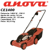 Cortacesped eléctrico Anova CE1400