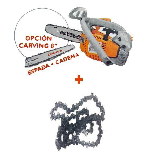 Motosierra anova mg2008 cadena y aceite de regalo - Aceite cadena motosierra ...