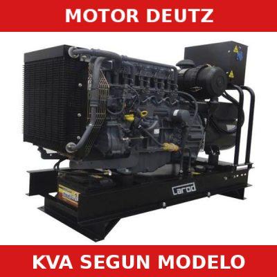 generadores electricos carod deutz