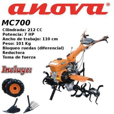 Motoazadas Anova MC700