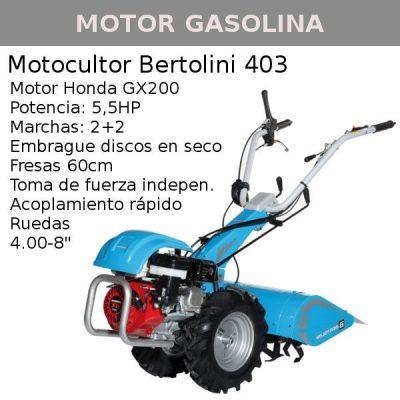 motocultor bertolini 403 honda