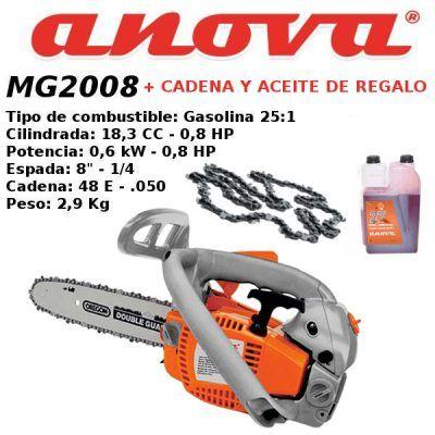 Motosierra Anova MG2008