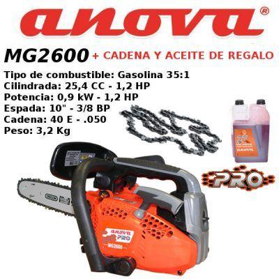 motosierra Anova MG2600