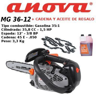 Motosierra Anova MG36-12A