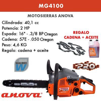 motosierra Anova MG4100