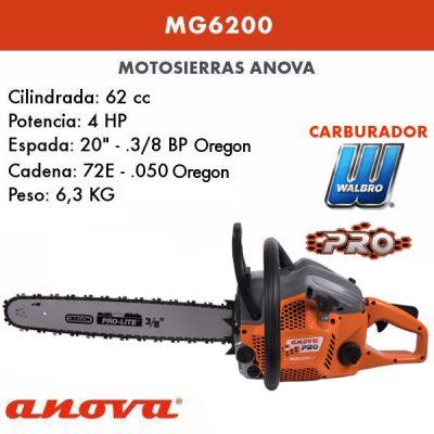 Motosierra Anova MG6200