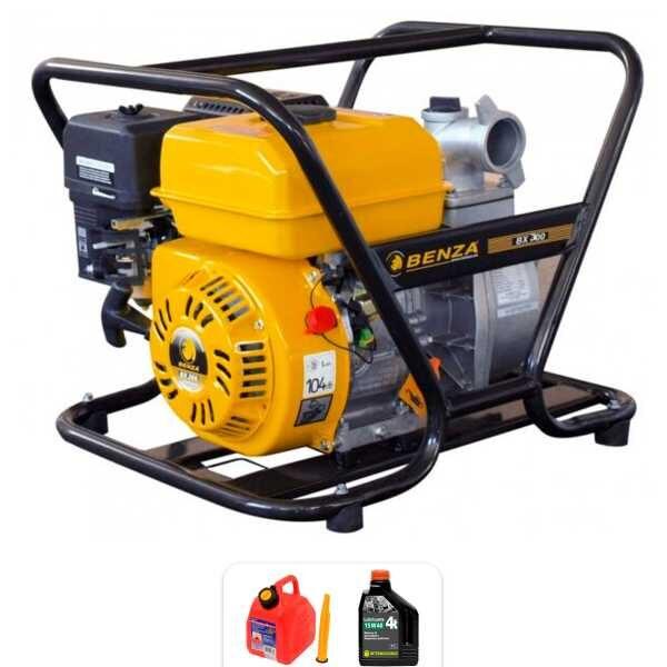Benza MOD BX300 motor pump of 5,6 HP, 60.000 l / h, Max. 26m.