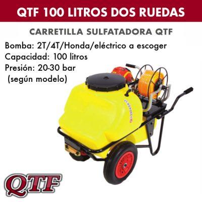 Carretilla pulverizadora QTF 100 LITROS