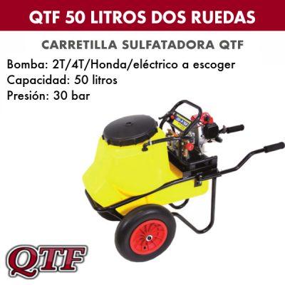 Carretilla pulverizadora QTF 50 LITROS