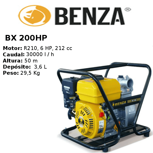 generador-benza-BX 200HP