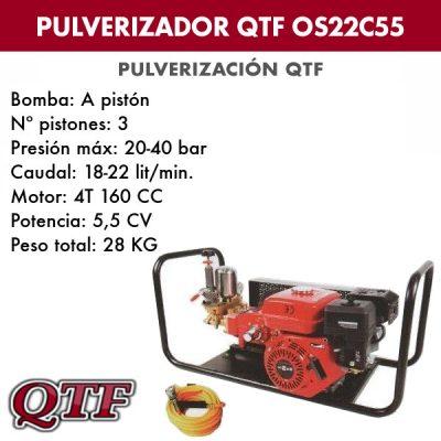 Grupo pulverización QTF 22C 55