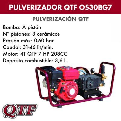 Grupo pulverizacion QTFOS 30 BG7