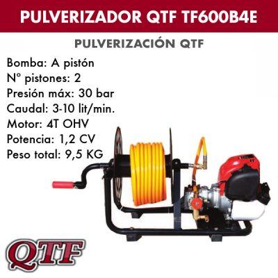 Grupo pulverizacion QTF 600 B4E 4TPOS