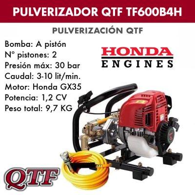 Grupo pulverizacion QTF 600 B4 HONDA
