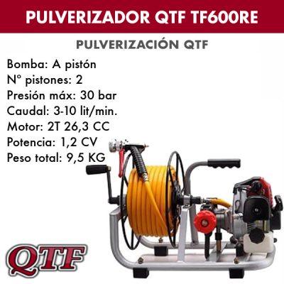 Grupo pulverizacion QTF 600 RE