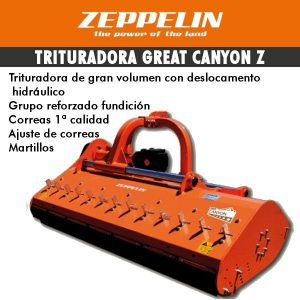 Trituradora de gran volumen desplazabale de martillos Great Canyon
