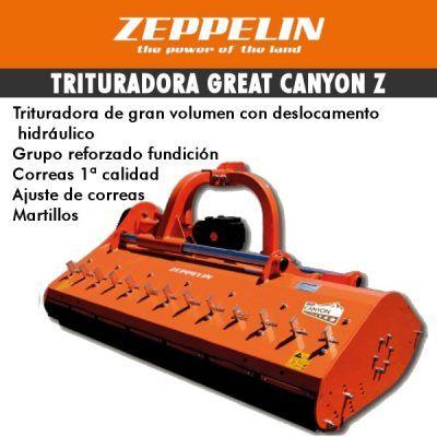 Trituradora de gran volumen desplazabale de martillos Great Canyon
