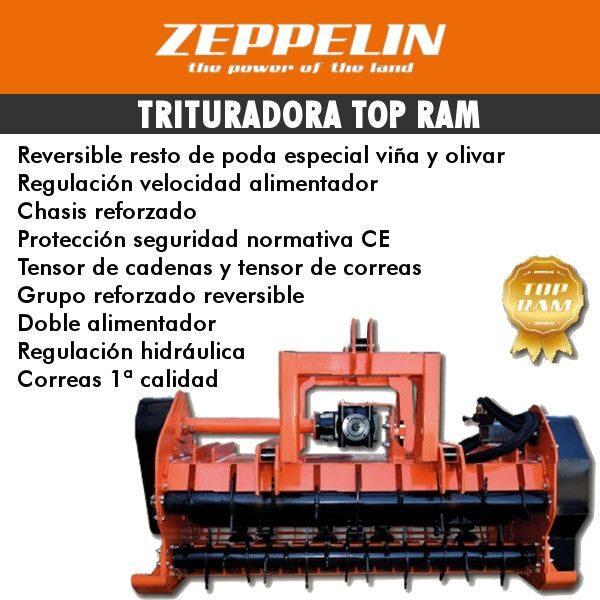 Trituradora Top Ram