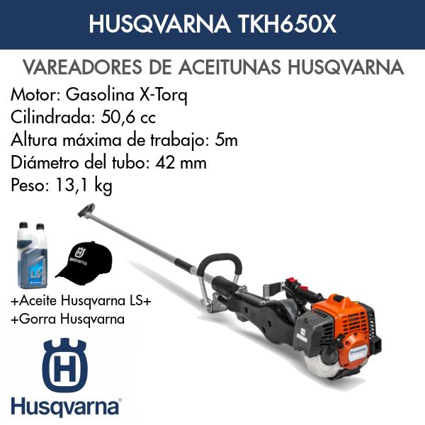 Vareadora Husqvarna TKH650X