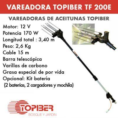 Vareadora de aceitunas topiber F200E