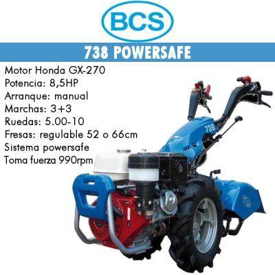 Motocultores BCS 738