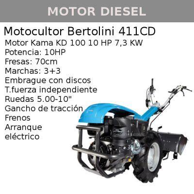 motocultor 411 cd kama