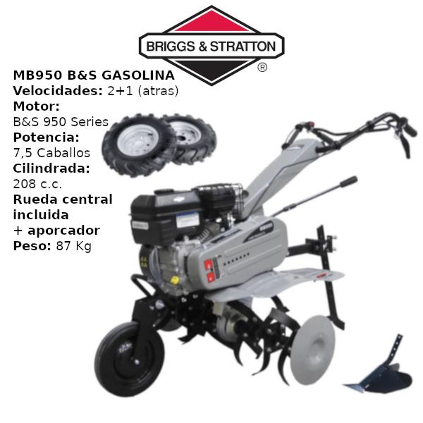 Motoazadas MB950 B&S gasolina