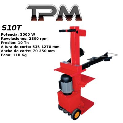 Astilladora leña TPM S10T