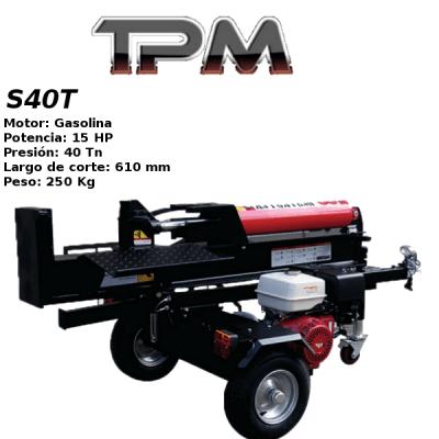 Astilladora leña TPM S40T