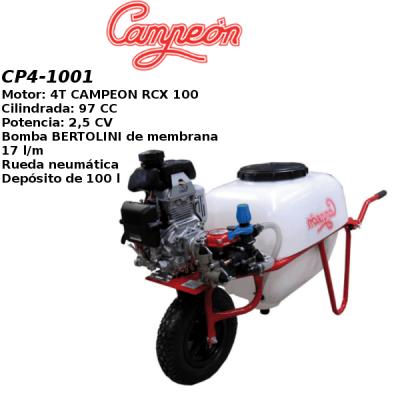 Carretilla sulfatadora Campeon CP4-1001