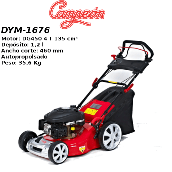 Cortacesped Campeon DYM-1676