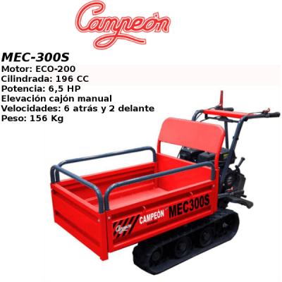 Carretilla oruga Campeon MEC-300S
